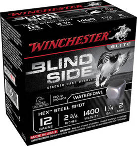 Winchester Blind side 12/76 39g Haulikon patruuna - Winchester - 020892020689 - 1