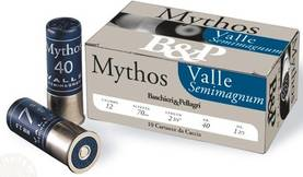 B&P Mythos Valle Semimagnum 12/70 100kpl - B&P - 4400000014711 - 1