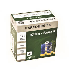Sellier & Bellot Parcours 12/70 36g Haulikon patruuna - Sellier&Bellot - 4400000012922 - 1