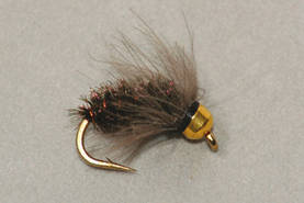 Bead Head CDC Peacock Caddis Pupa - Uppoperhot - 3932223471626
