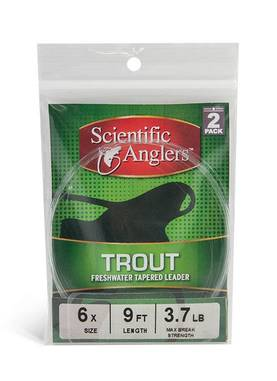"Scientific Anglers Trout Leader 9"" - Kartioperukkeet - 4400000010706 - 1"