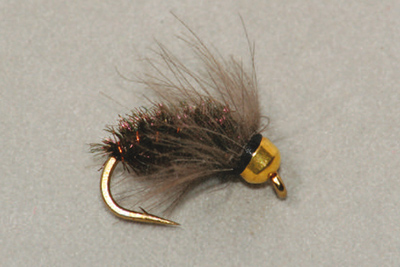 Bead Head CDC Peacock Caddis Pupa - Uppoperhot - 3932223471626 - 1