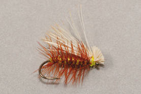 Elk Hair Caddis yellow - Pintaperhot - 3932094723237