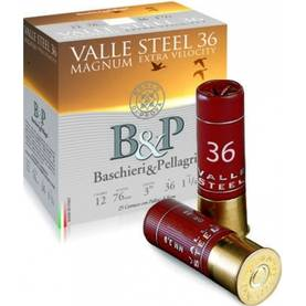 B&P Valle Steel Supermagnum 12/89 42g Haulikon patruuna - B&P - 8034134049958 - 1
