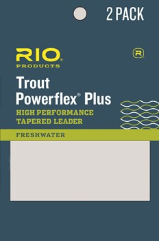 Rio Powerflex Plus peruke 9'  2-pack - Kartioperukkeet - 44024104570898 - 1